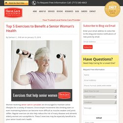What Exercises Can Help Boost a Senior Woman's Health?