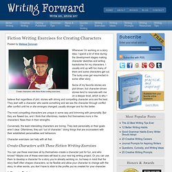 Fiction Writing Exercises for Creating Characters