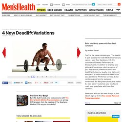 Total-Body Exercises: Deadlift Variations