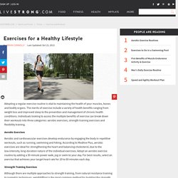 Exercises for a Healthy Lifestyle