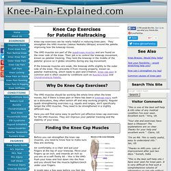 Knee Cap Exercises: Improve Patella Tracking