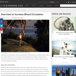 Exercises to Increase Blood Circulation