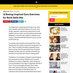 Core Exercises: 12 Boxing-Inspired Moves for Strength
