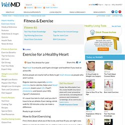 Exercises to Keep Your Heart Healthy