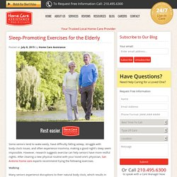 Easy Exercises That Promote More Restful Sleep for Seniors