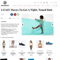 Best Butt Exercises - Donkey Kicks, Easy, Simple Moves