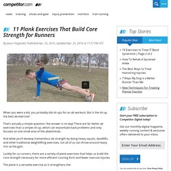 11 Plank Exercises That Build Core Strength for Runners