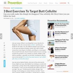 3 Best Exercises To Target Butt Cellulite