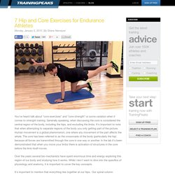 7 Hip and Core Exercises for Endurance Athletes