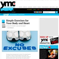 Simple Exercises for Your Body and Heart