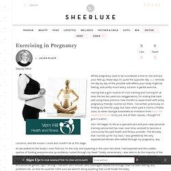 Exercising in Pregnancy