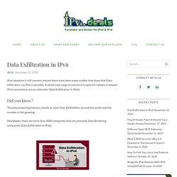 Custom exfiltration methods