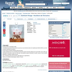 Exfoliant Visage - Koulikoro de Terractive - Beauté-test.com