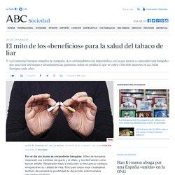 DÍA DEL EXFUMADOR - El mito de los «beneficios» para la salud del tabaco de liar