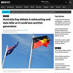 Australia Day debate is exhausting and data tells us it could last another generation