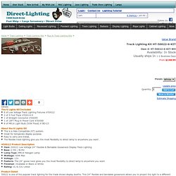 Buy Exhibit Lighting, Display Lighting & Trade Show Lighting Kit HT-50022-6-KIT