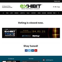 Exhibit Tech Awards 20