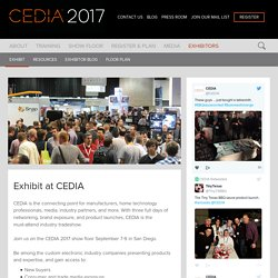 Exhibit at CEDIA - Home Technology Tradeshow