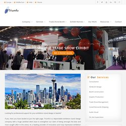 Seattle Exhibition Booth Design & Construction