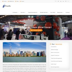 New York Exhibition Stand Design Company