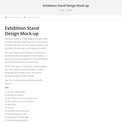 Exhibition Stand Design Mock-up
