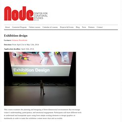 Exhibition design | Node