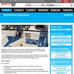 Exhibition Designer Interior Design or Display