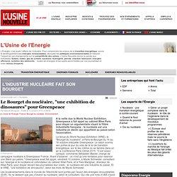 """Le Bourget du nucléaire, """"une exhibition de dinosaures"""" pour Greenpeace - Nucléaire"""