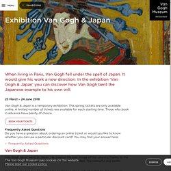 Exhibition Van Gogh & Japan - Van Gogh Museum
