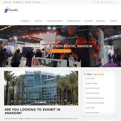 Trade Show Booth Rental Anaheim