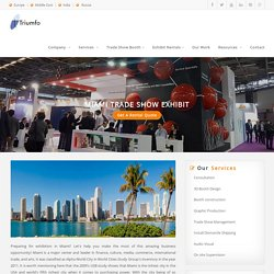 Exhibition Stand Contractor Miami