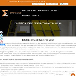 Exhibition Stand Design Company in Milan