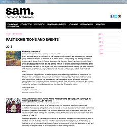 Past Exhibitions and Events - Shepparton Art Museum