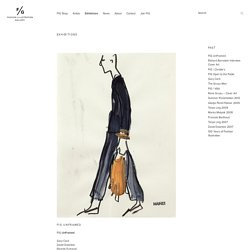 Exhibitions / Fashion Illustration Gallery