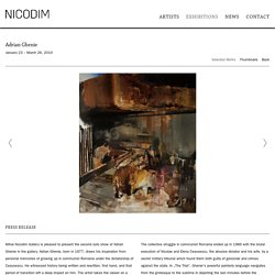 Adrian Ghenie - Exhibitions - Nicodim Gallery