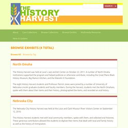 Browse Exhibits · History Harvest