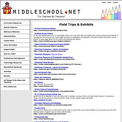 Access Middle School! Free, virtual field trips, exhibits, and camera ...