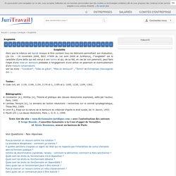 Exigibilité : définition du lexique juridique de Juritravail