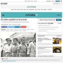 El exilio español en la novela