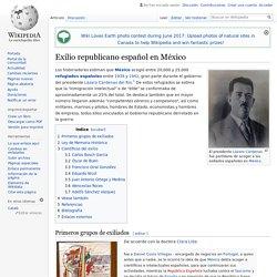 Exilio republicano español en México