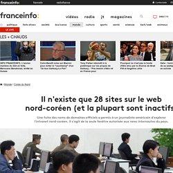 FRANCETVINFO: Il n'existe que 28 sites sur le web nord-coréen