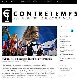 Existe-t-il un danger fasciste en France ?