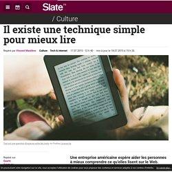 Il existe une technique simple pour mieux lire