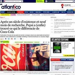 Pepsi a trouvé ce qui le différencie de Coca-Cola