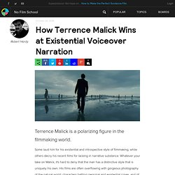 How Terrence Malick Wins at Existential Voiceover Narration