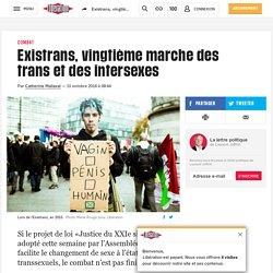 Existrans, vingtième marche des trans et des intersexes