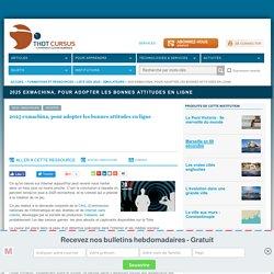 2025 exmachina, pour adopter les bonnes attitudes en ligne