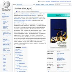 Exodus (film, 1960)