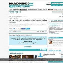 Un exoesqueleto ayuda a evitar caídas en los mayores - DiarioMedico.com