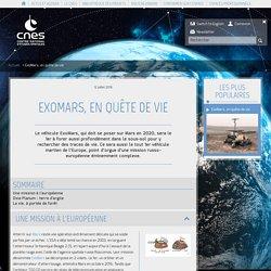 ExoMars, en quête de vie